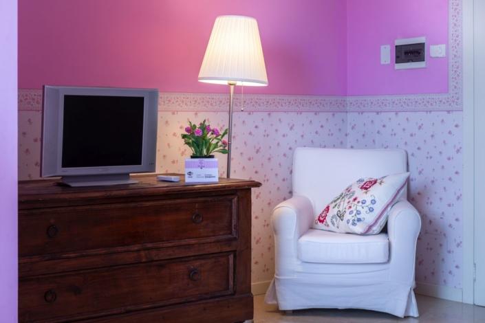 Camera rosa B&B Rose e Merletti