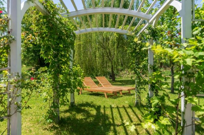 Giardino privato BeB Rose e Merletti