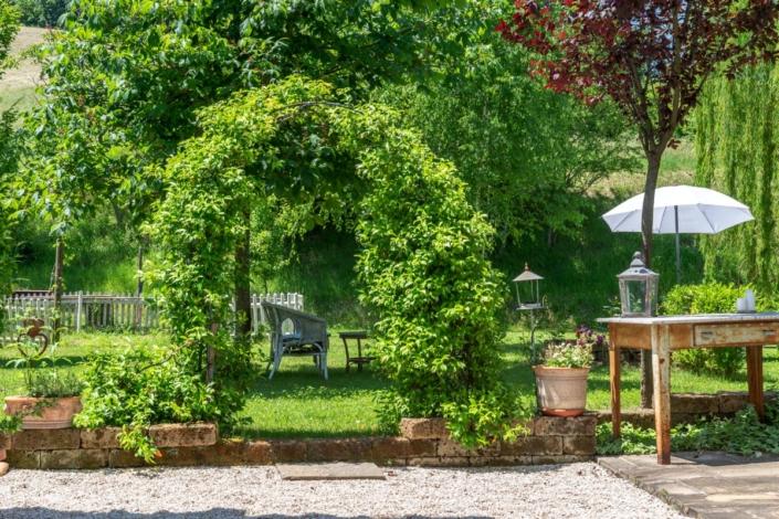 Giardino riservato BeB Rose e Merletti